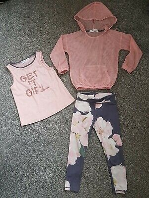 Age 3-4yrs Girls Active Sports wear Bundle Minoti Excellent Condition