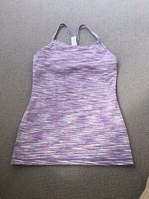 Lululemon for girls  - purple sports top size 12 ages