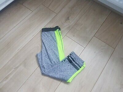 Girls Cropped Sports Leggings Age 14 H&M