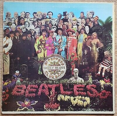 The Beatles - Sgt Pepper's Lonely Hearts Club Band. US 1967 Mono Viny LP