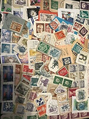 World Stamp Clippings Kiloware From Charity Source (lot236)