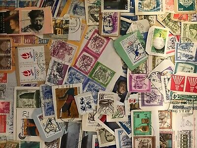 World Stamp Clippings Kiloware From Charity Source (lot232)
