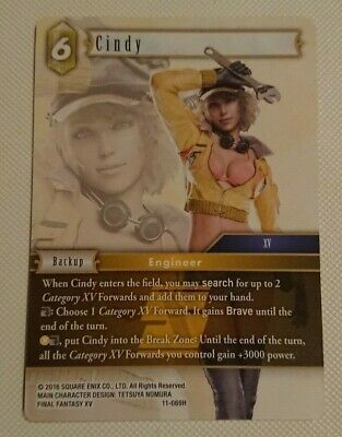 Full Art Foil Booster Fresh Final Fantasy Trading Card Cindy PR-068//11-069H