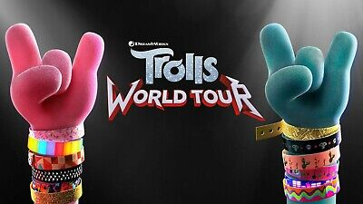 Trolls Branch /& Poppy Iron-On Transfer For T-Shirt /& Other Light Color Fabric #4