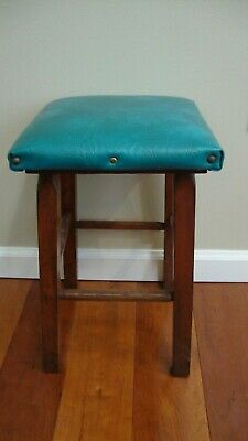 Antique Rare Bench Stool Footstool Child's Small Ladies