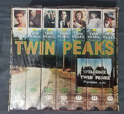 Twin Peaks VHS Box Set Complete First Season - Episode 1-29 NEW SEALED