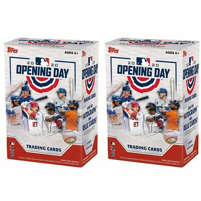 Topps 2020 Opening Day Baseball Retail Value Box (2 Boxes)