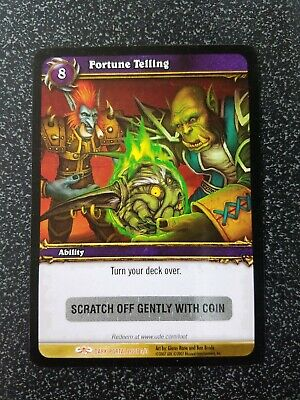 Fortune Telling World of Warcraft TCG Loot Card Unscratched