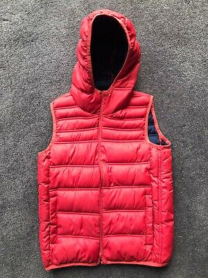 Zara Boys Vest Bright Orange Size 9/10