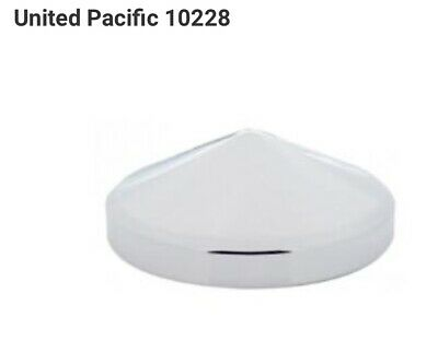"""United Pacific 10228 CR 8"""" Pointed Rear Hub Cap"""