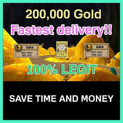 Wizard101 | 200k Gold 💰 | 250 Empower TC | Fast Delivery! ⏱
