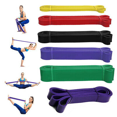 Exercise Bands Latex Resistance elastic Band -Pull Up Assist Bands Fitness GYM Y