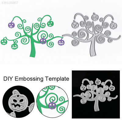 53EA Cheap Halloween Pumpkin Tree Cutting Dies Cutting Stencil Embossing