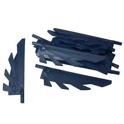 LEGO 11091 WING FEATHERS 9L DARK BROWN QTY x 6 BRAND NEW