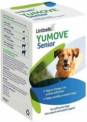 YuMOVE SENIOR JOINT SUPPLEMENT FOR STIFF SENIOR DOGS 120 & 240 Tablets BESTPRICE