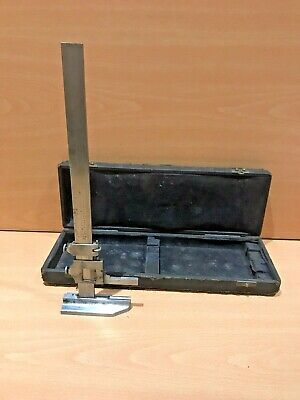 Vintage Browne And Sharpe No.585 Height Gauge 12""