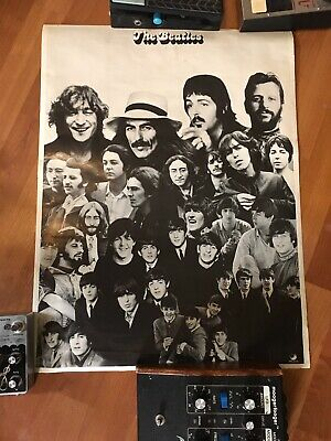 The Beatles - Apple Records from Capitol Records- 1970's Promotional Poster