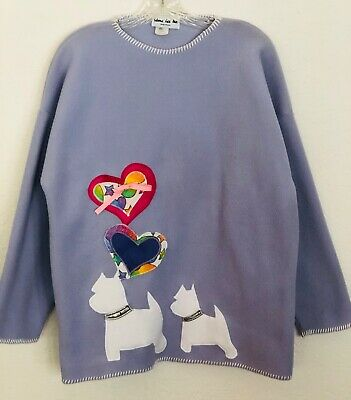 West Highland White Terrier Cozy Shirt - Large/New