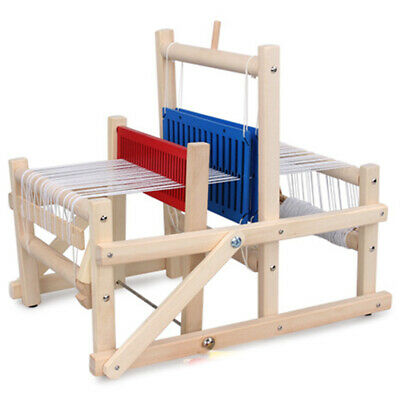 2X(Wooden Traditional Weaving Loom Children Toy Craft Educational Gift WoodU2J4)