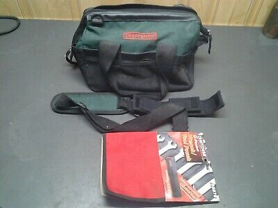 """Craftsman 12"""" Tool Bag Storage Pouch Organizer Carrying Case Tote"""