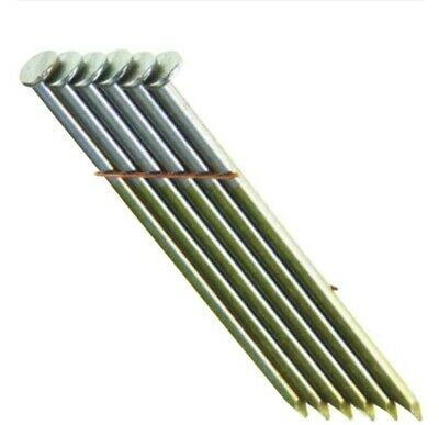 """(1000) 2"""" Grip Rite Collated Nails.Wire Weld Galvanized.Ring Shank..Round. Fence"""