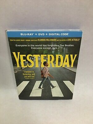 Yesterday (Blu-Ray+DVD, 2019 No Digital Code Included