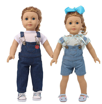 18'' American Girl Brand Doll accessories clothes kit T-shirt /Jeans NO headwear