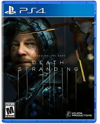 Death Stranding (PS4 Sony Playstation 4) game complete Brand NEW