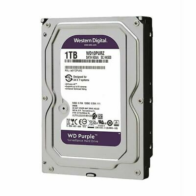 Western Digital WD Purple 1TB Internal CCTV Hard Drive HDD WD10PURZ AUS ORIGINAL
