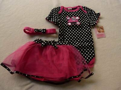 NEW WITH TAGS - BABY ESSENTIALS  girls rock outfit size 24 months - $4 post opti