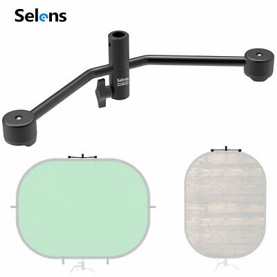 Selens Magnetic Clamp Clip Photo Studio Background Backdrop  Light Stand Holder