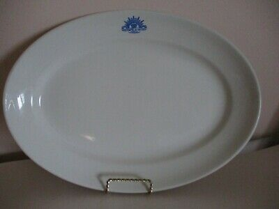 Vintage Australian Military Forces Serving Plate - Maddock, England