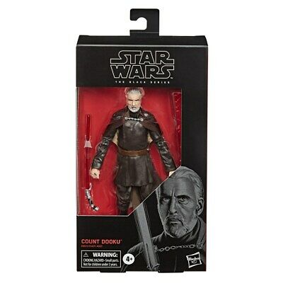 Star Wars The Black Series Count Dooku Toy 6-inch Scale: Attack of the Clones