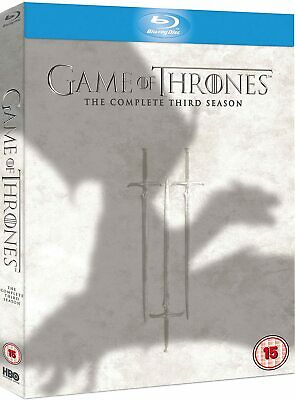Game Of Thrones - Complete Third Season - 3 (Blu-ray, 2014, 5-Disc Set)