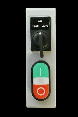 WEG Electric KESWHS Hand-Off-Auto Selector Switch and Start / Stop Pushbuttons