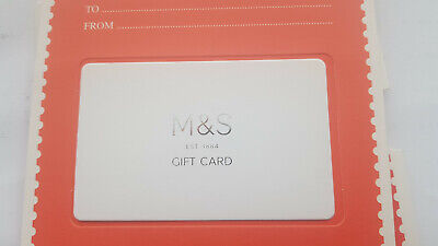 M&S £25 Gift Card Marks and Spencer M+S Clothes, Food, Mens Women's Gift Voucher