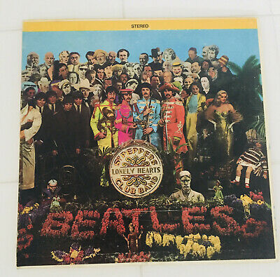 THE BEATLES Sgt.Peppers Lonely Hearts Club Band ALBUM STEREO VINYL LP