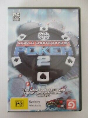 - World Championship Poker 2 [Pc Dvd-Rom] Realistic Poker