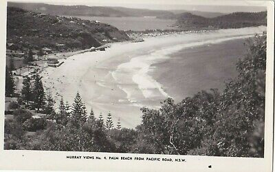 APC328) PC RP Palm Beach from Pacific Road, NSW, Murray Views No.4 unused, GC