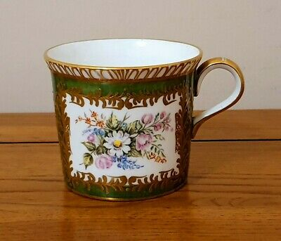 Very Rare Royal Crown Derby - *Hand Painted Flower Cup* - Signed - Beautiful.