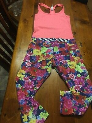Lorna Jane Fitness Pants And Singlet Size S