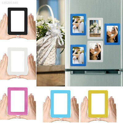Beautiful Magnetic Photograph Frame Photo Frame Home Refrigerator Pattern Decor