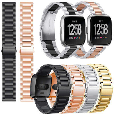 Stainless Steel Replacement Wrist Bracelet Strap For Fitbit Versa 2 Versa Lite