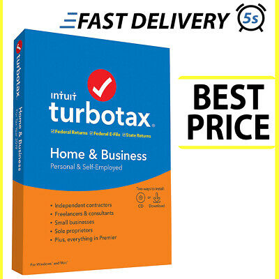 Intuit TurboTax Home & Business 2019 ⚡️Instant Delivery⚡️Full Version 🔥 (5s)🔥