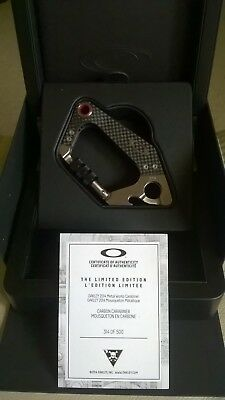 Oakley X-Metal/Rare/Display Carbon Fibre/Stainless Steel Carabiner Bnwt £375