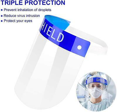Transparent Anti-Fog Droplet Dust-proof Protect Full Face Covering Visor Shield