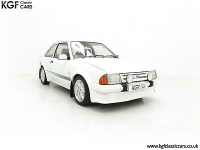 An Iconic Unmolested Ford Escort Series 1 RS Turbo Non-Custom