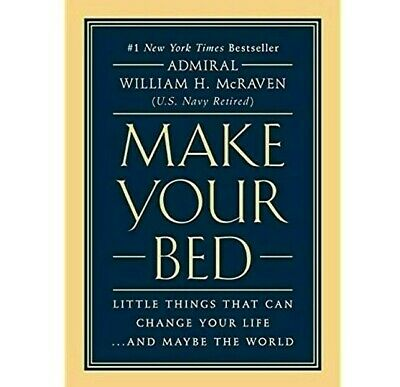 Make Your Bed:Little Things That Can Change Your Life: William McRaven (Digital)