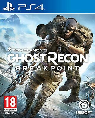 Tom Clancy's Ghost Recon Breakpoint   PlayStation 4 PS4 New