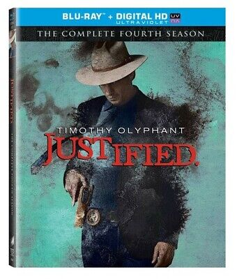 Justified The Complete Fourth Season Blu-ray W/ OOP SLIPCOVER FX 2013 Western TV